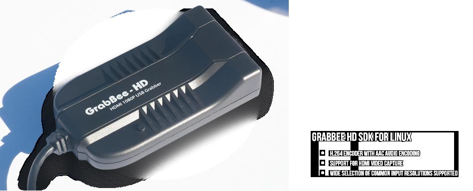 Grabbee HD SDK for Linux